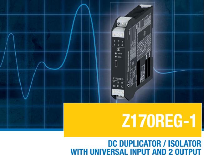 Bộ chuyển đổi tín hiệu nhiệt độ Z170REG-1