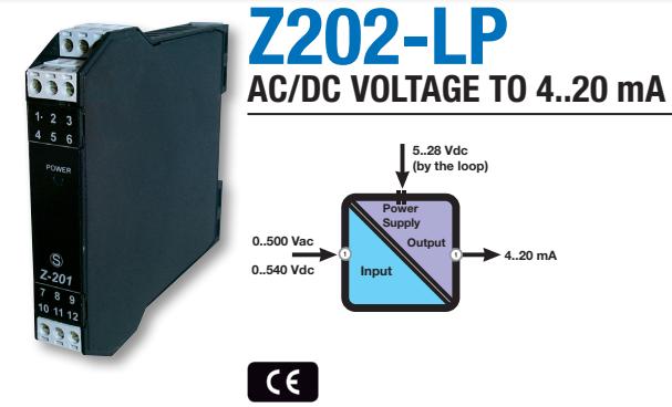 Bộ chuyển đổi tín hiệu điện áp ra 4-20mA