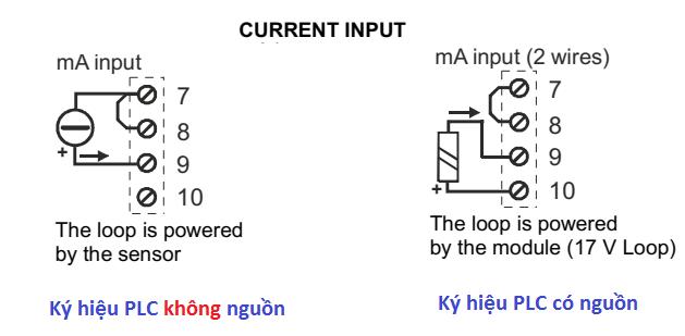 Cách đấu dây tín hiệu 4-20mA vào PLC