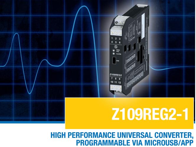 Bộ chuyển đổi tín hiệu nhiệt độ Z109REG2-1