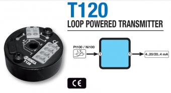 Bộ chuyển đổi tín hiệu nhiệt độ pt100 ra 4-20ma