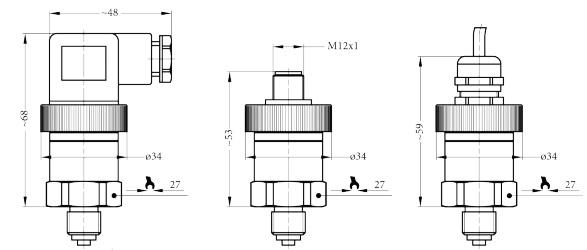 Cảm biến đo áp suất chân không