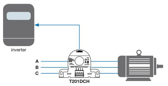Ứng dụng CT dòng T201DCH300-LP