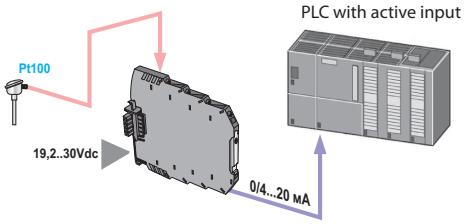 Bộ chuyển đổi nhiệt độ PT100