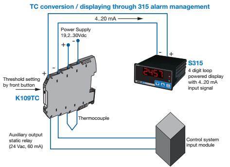 Bộ chuyển đổi tín hiệu can nhiệt ra 0-10v