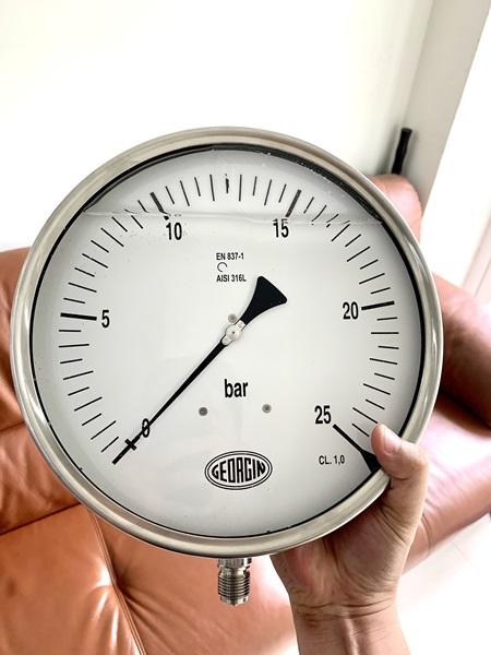Đồng hồ áp suất nồi hơi