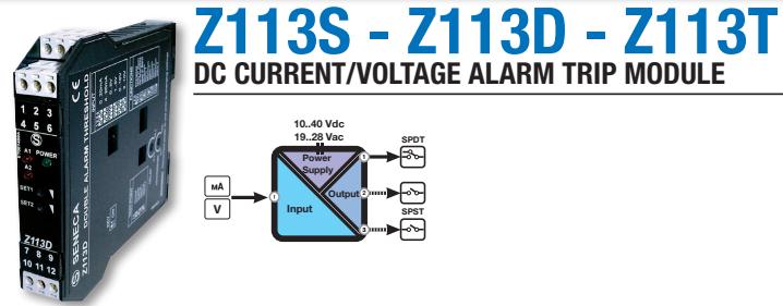 Bộ chuyển đổi tín hiệu 4-20mA sang relay