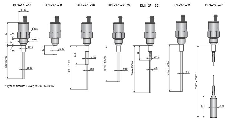 Ứng dụng cảm biến điện dung dls-27