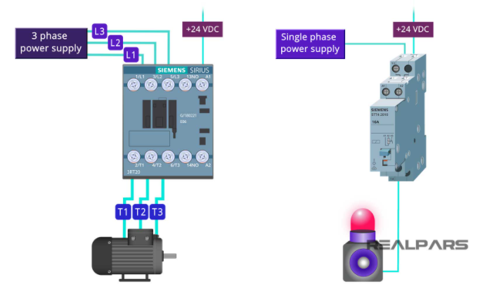 So sánh contactor với relay